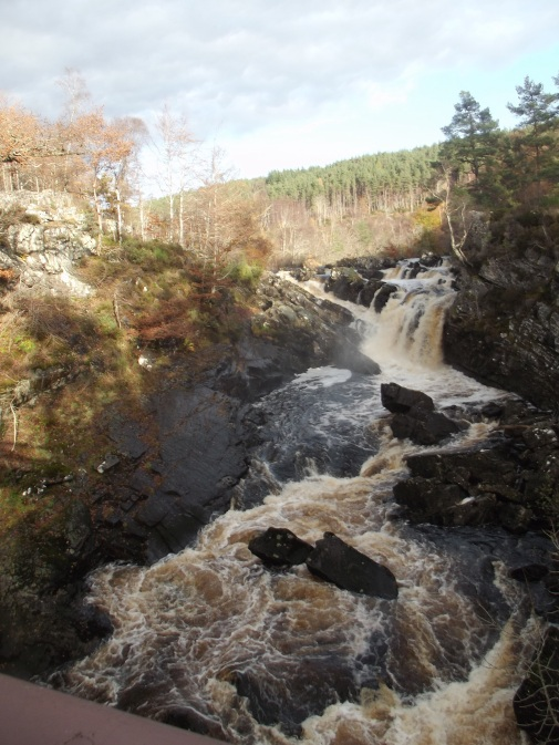Rogie Falls at Strathpeffer